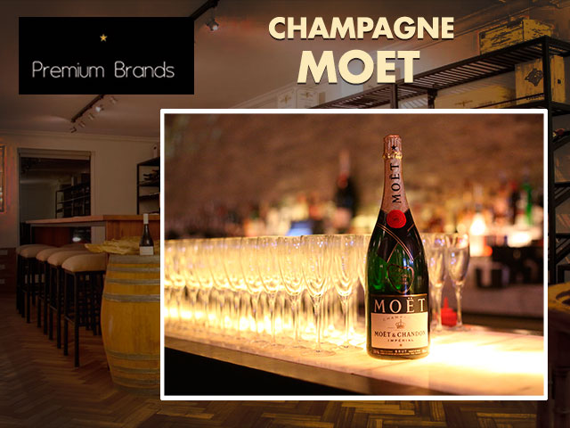 Champagne Moet Chandon Chile