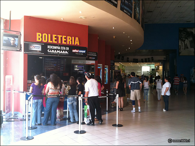 Cine Cinemark Plaza Tobalaba Fotos del Lugar